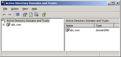 Infor help brasil windows server 2003 instala o do active directory 7 parte opera es - Console active directory ...